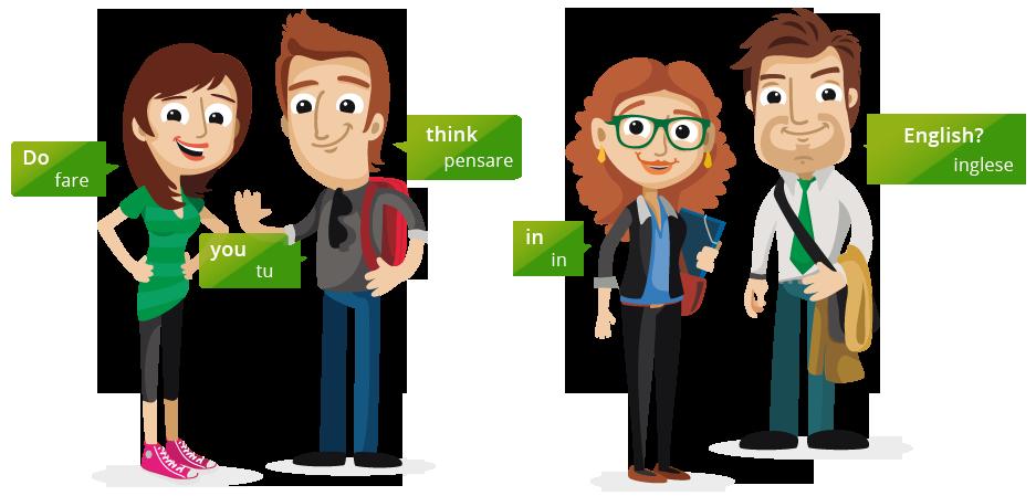 Imitum - Metodo attraente di apprendimento della lingua inglese